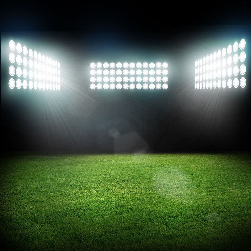 Football Stadium Lights End Table: The Competitive Edge